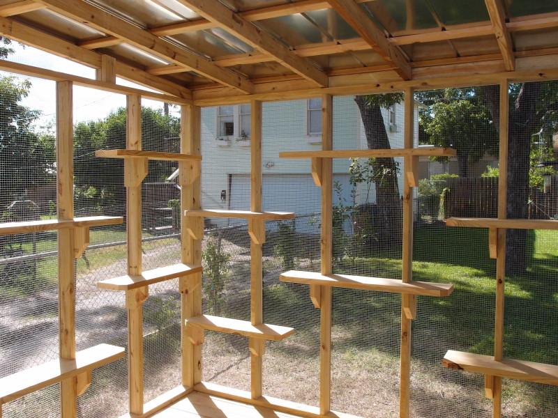 The cat carpenter hyde park catio